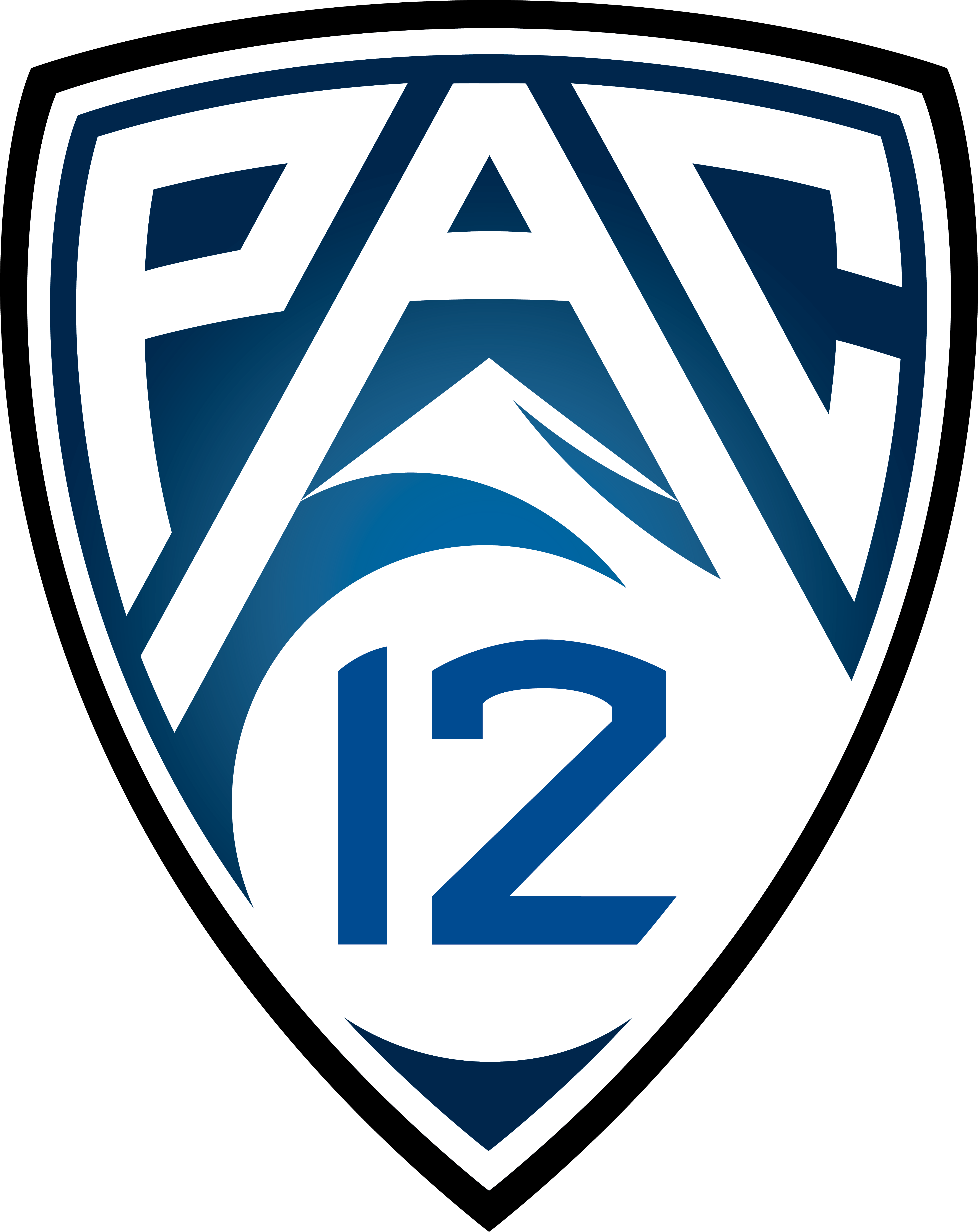 Pac 12 shield Logo