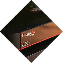 DISH Hopper3 DVR with Sling close up